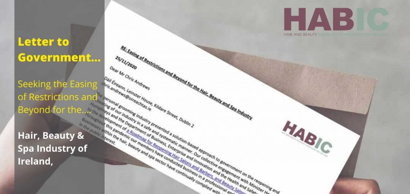 HABIC sends Letter to Government