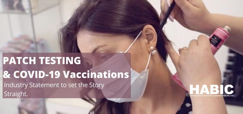 Patch Testing and COVID-19 Vaccinations, Setting the Story Straight