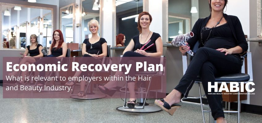 Economic Recovery Plan and it's impact on the Personal Care Sector